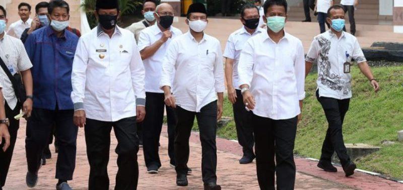 Tangani Wabah Covid-19, Isdianto dan Nuryanto Puji Kinerja Rudi