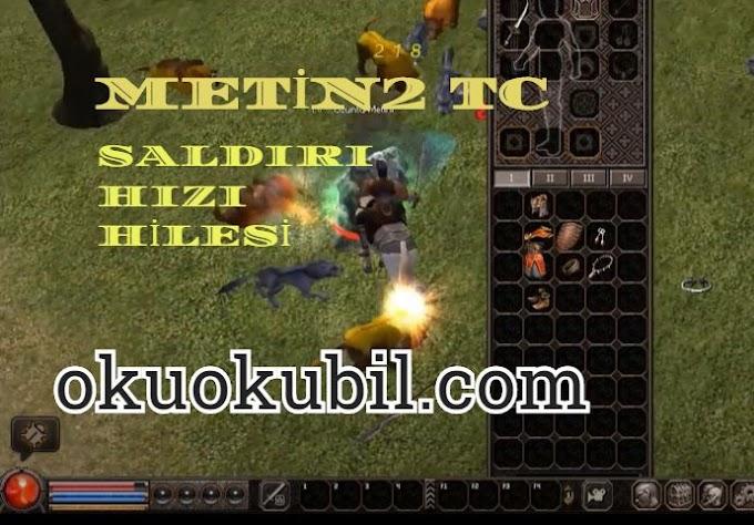 Metin2 TC Attack Speed Hack Saldırı Hızı Hilesi Cheat Engine 2020