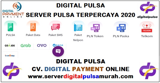 Digital Pulsa Server Pulsa Terpercaya 2020