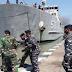 Kapal Perang TNI Angkut 2 Batalyon Prajurit Tempur Ke Papua Pasca Penyerangan Markas KKB