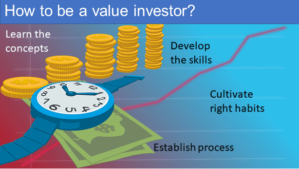 Steps to be a value investor