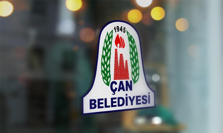 Çanakkale Çan Belediyesi Vektörel Logosu