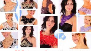 20 Patrones de Cuellos Crochet / Colección