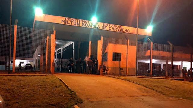 Bando em carro atira várias vezes contra presidio 470 em Porto Velho