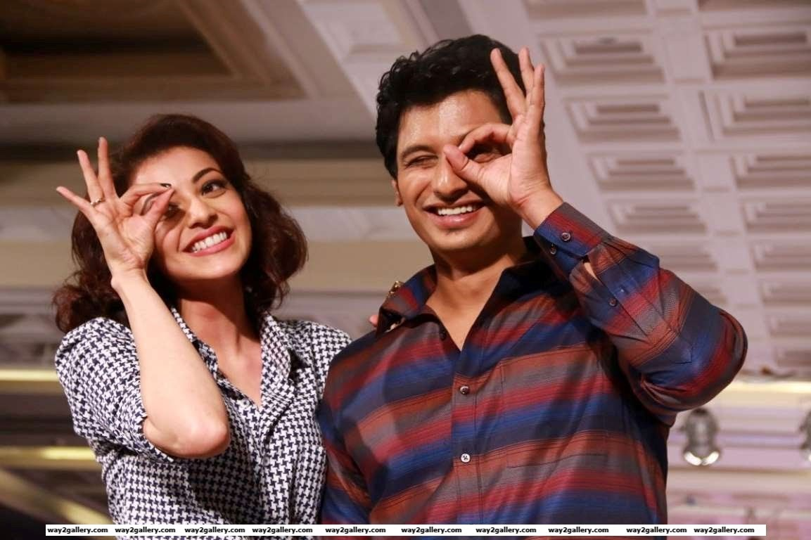 Kajal Aggarwal and Jiiva turned showstoppers for Anams Man  Barakah Spring Summer  Collection