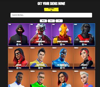 fn skins.com How to get free fortnite skins using fnskins com