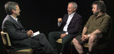 Steven Spielberg and Peter Jackson