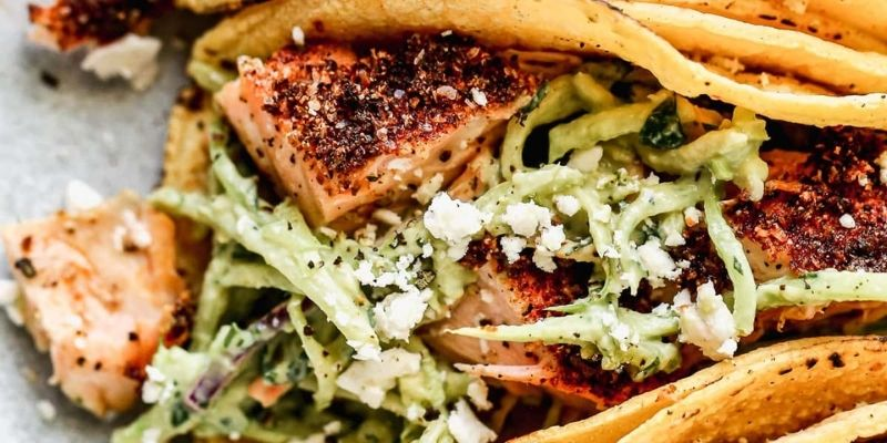How To Make Salmon Tacos