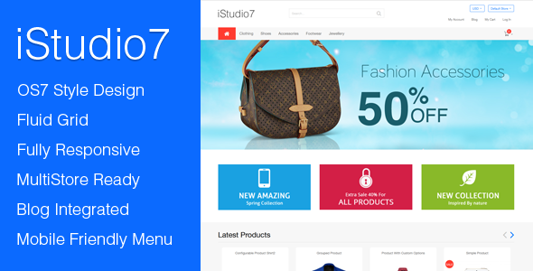download Responsive Magento Theme
