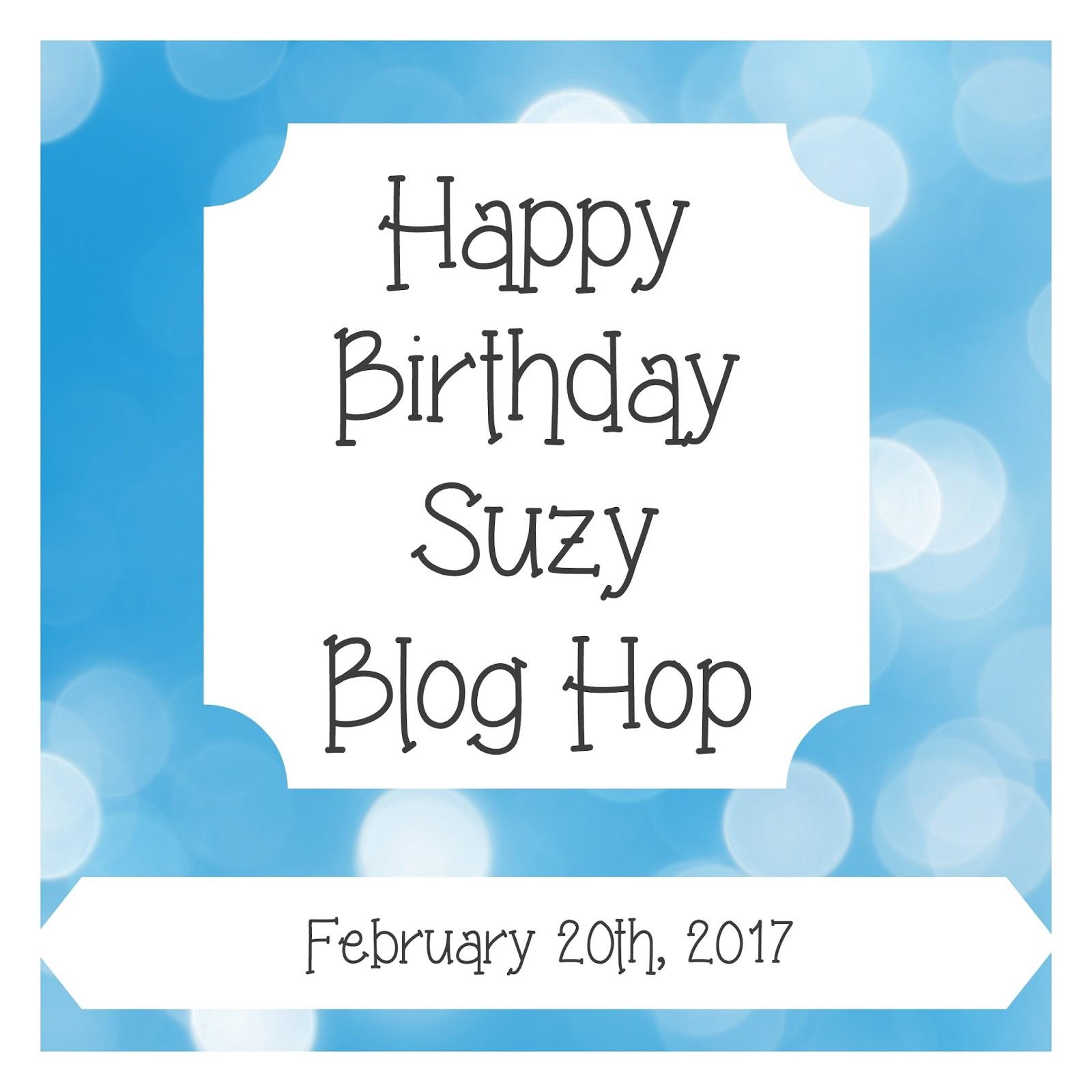 Live Laugh Scrap With Steph Ackerman: Happy Birthday Suzy