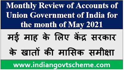 Monthly Review of Accounts