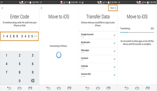 How to switch from Android to iPhone and iPad