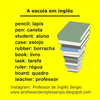 Aprender Inglês, Aulas de Inglês, Curso de Inglês, Dicas de Inglês, Escola Inglês, Inglês Básico, Inglês para Brasileiros, Inglês para Iniciantes,