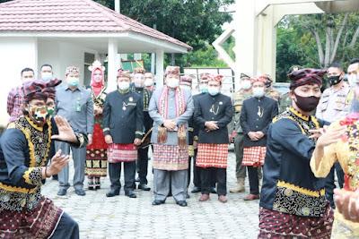 Gubernur Arinal Djunaidi Hadiri Rapat Paripurna HUT ke-64 Kabupaten Lampung Selatan