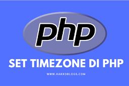 Format timezone indonesia untuk wilayah WIB, WITA dan WIT di PHP