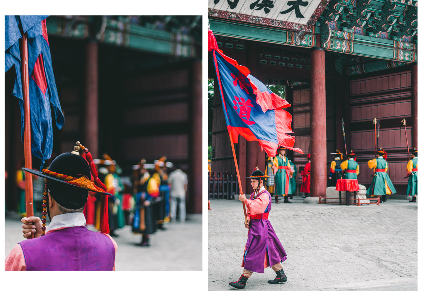 Palais Deoksugung relève de la garde