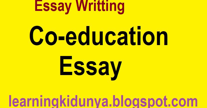 Co education essay