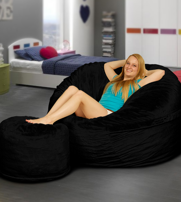 bean bags have been in vogue since the 1970s when it spread from the modernist design houses of italy to the rest of europe until they landed on us soil - Oversized Bean Bag Chairs