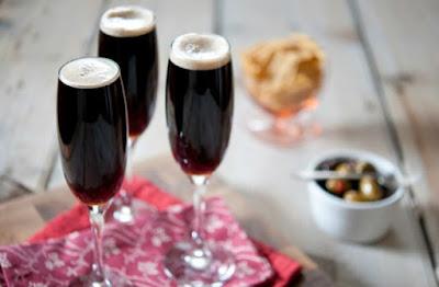 Cocktail Velvet Black
