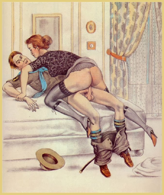 Retro Erotic Art