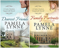 Book covers: Dearest Friends and Family Portraits by Pamela Lynne
