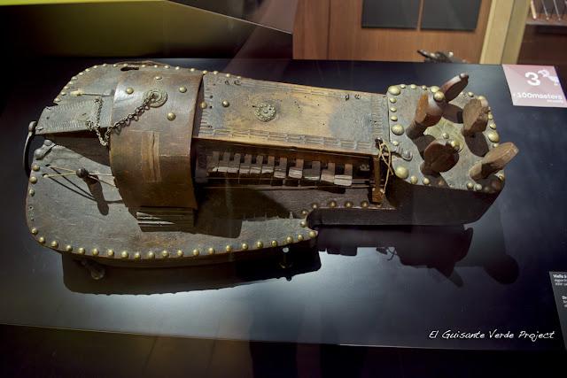 Museo Instrumentos Musicales, Bruselas, por El Guisante Verde Project