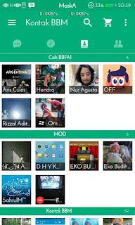 BBM MOD Green Light v2.13.1.14 APK Terbaru 2016