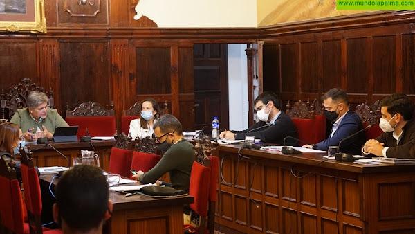 """El Ayuntamiento aprueba el pacto para la reactivación del municipio """"Aridane por Mucho Más"""""""