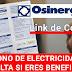 Bono Electricidad: Agosto 2021