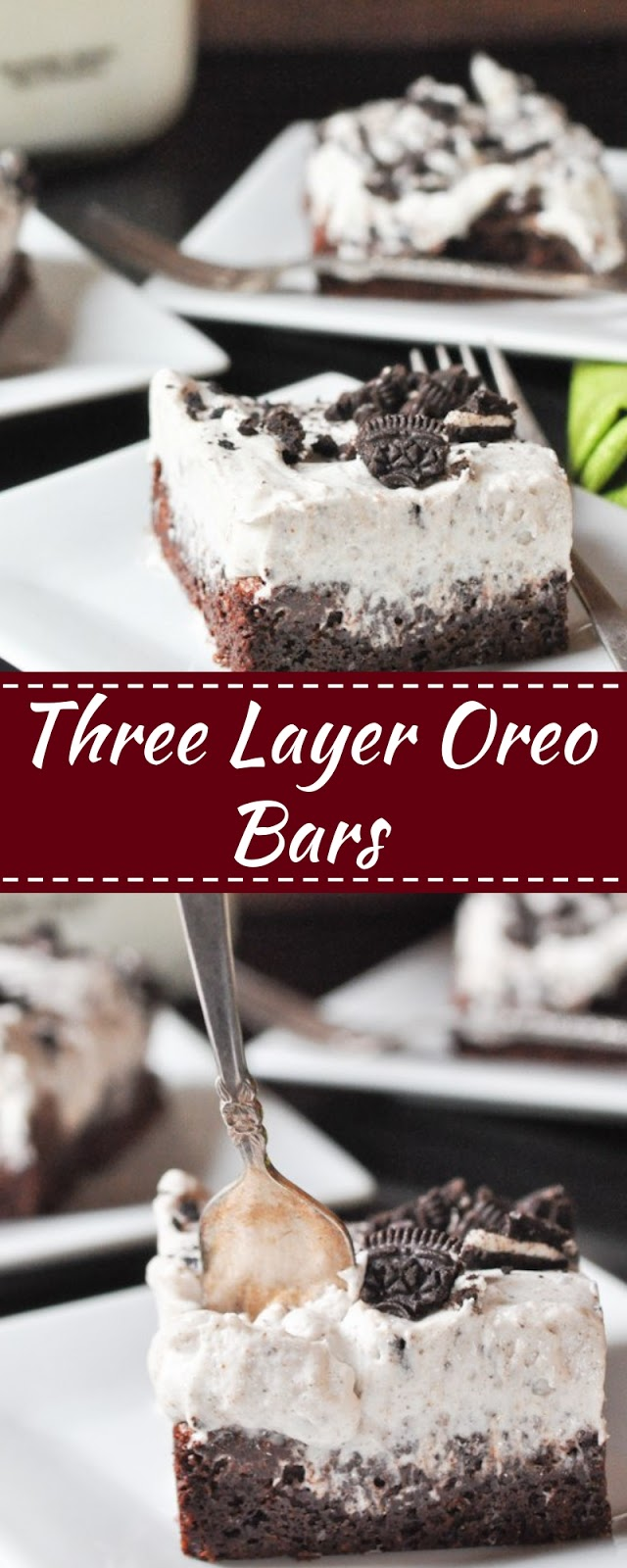 Three Layer Oreo Bars
