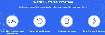 Wazirx Refer and EArn Program