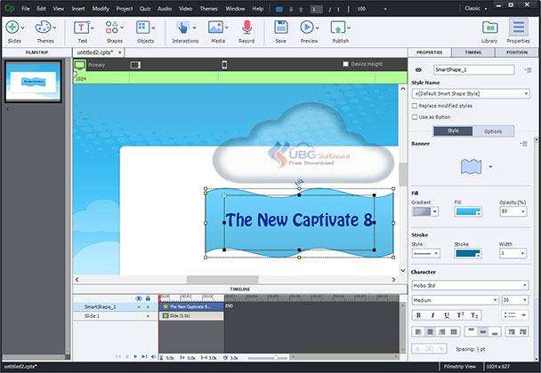 Adobe Captivate 8 - UBG Software