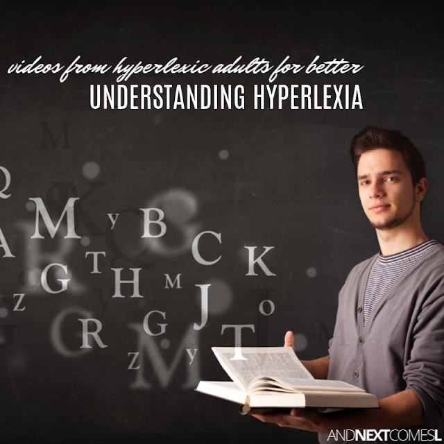 What is hyperlexia? Videos from hyperlexic adults that explain what it's like to grow up with hyperlexia