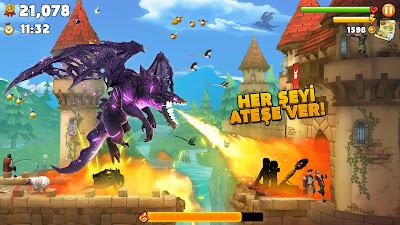 Hungry Dragon V2.8 MOD Full APK – PARA / ELMAS HİLELİ
