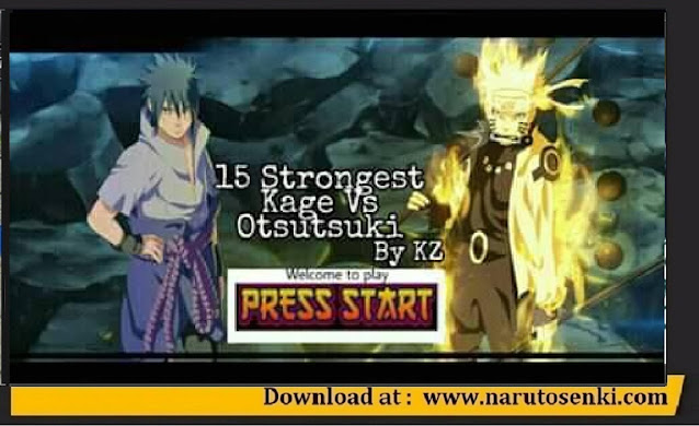 15 Strongest Kage VS Otsutsuki Mod Apk