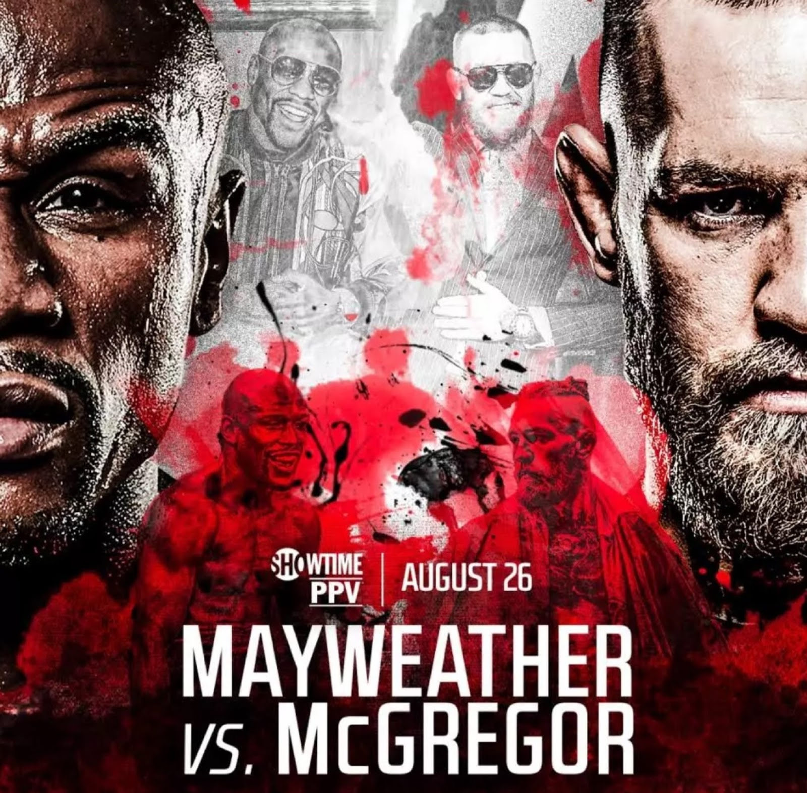 FLOYD MAYWEATHER VS. CONOR MCGREGOR 22