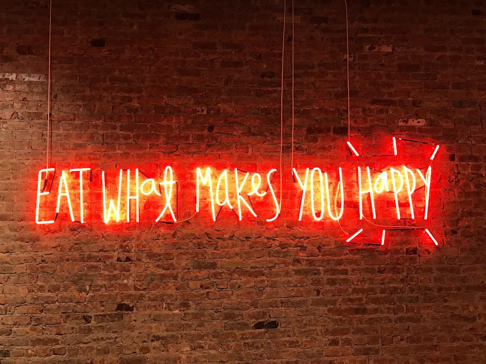 Eat What Makes You Happy - Jon Tyson