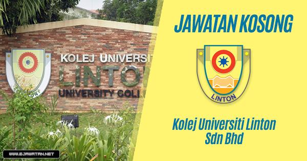jawatan kosong Kolej Universiti Linton Sdn Bhd 2020