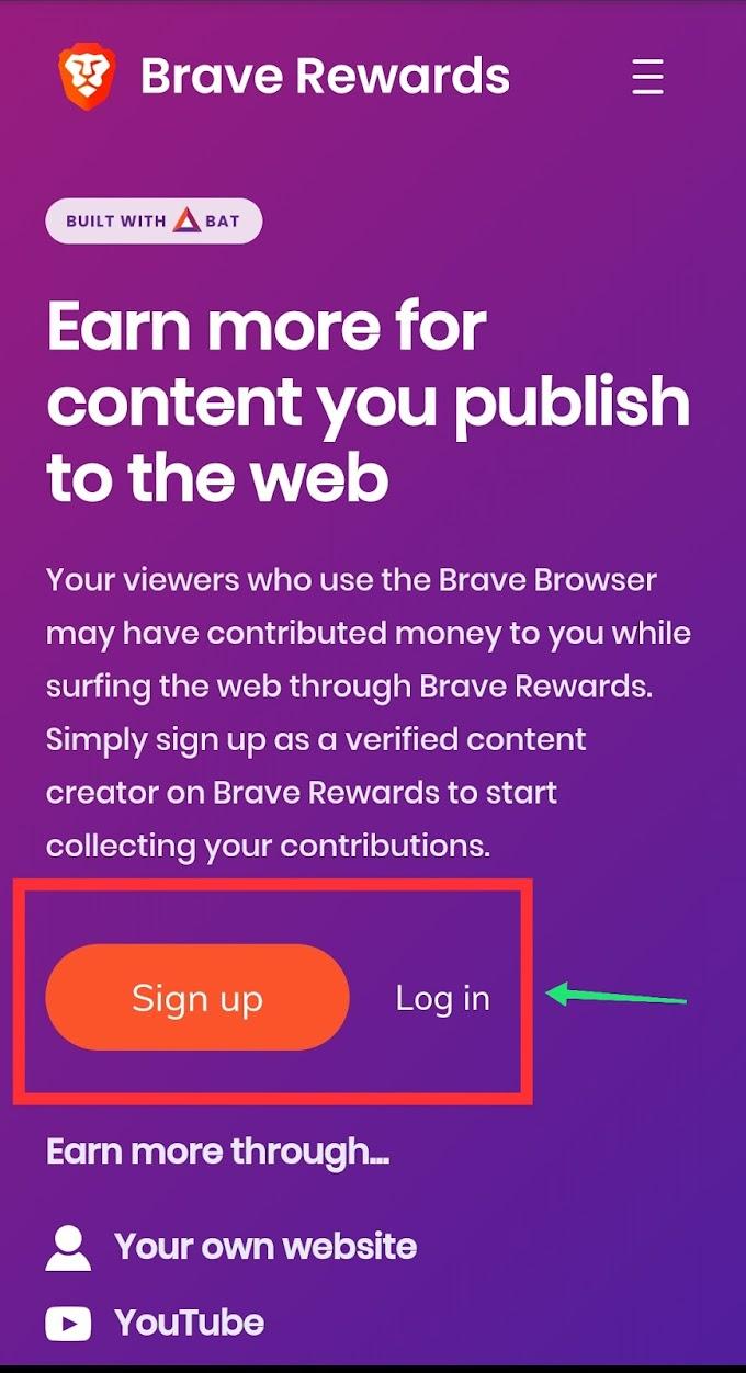 Brave Browser Se Paise Kaise Kamaye - Brave Browser से पैसे कैसे कमाएं
