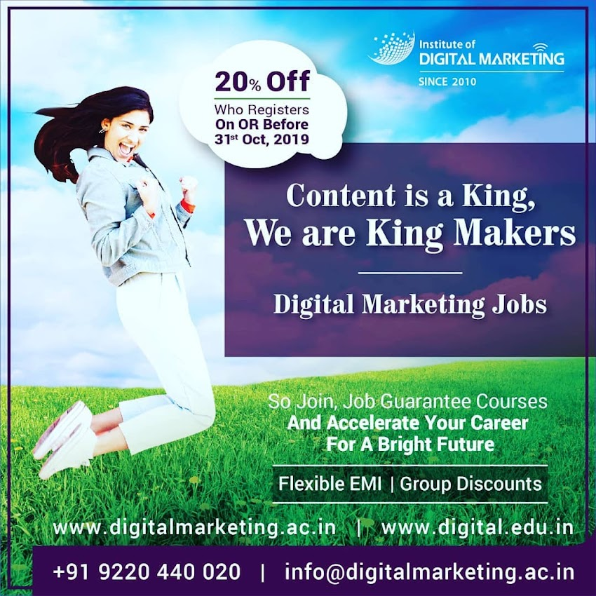 Digital marketing - the new skill to learn in the digital world for success!