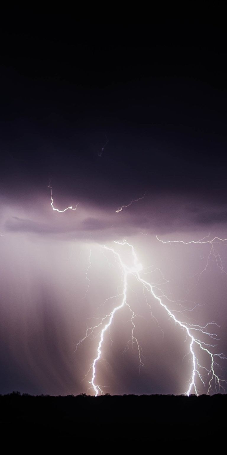 iPhone X 4k Wallpapers thunder