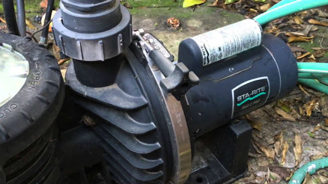 pool pump making a loud noise