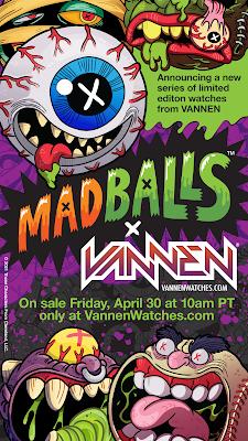 Vannen Limited Edition Madball Watches