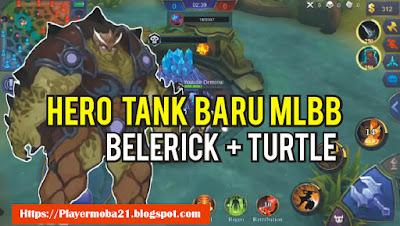 Hero Tanker Baru Mobile Legends yang bakalan dirilis Oleh Moonton