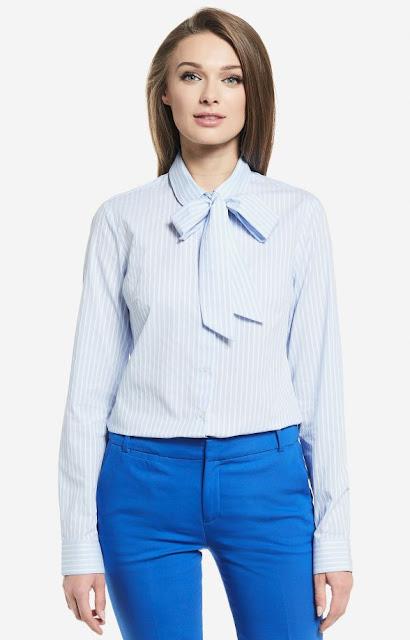 koszula wiązana pod szyją, bawełna koszula, wólczanka