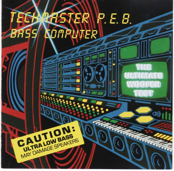 drony_dj Electro Bass: Techmaster P E B  - Bass Computer (CD