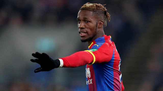 All I ask for his protection - Wilfried Zaha