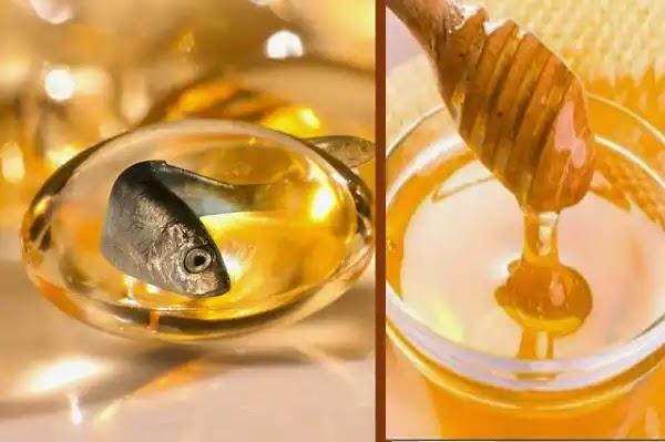 إليكِ قناع العسل وزيت السمك لبشرة خالية من التجاعيد