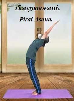 Arc of the Moon Pose - Pirai Asana.
