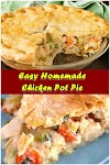 #Easy #Homemade #Chicken #Pot #Pie